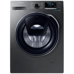 Masina de spalat rufe Samsung Eco Bubble AddWash WW90K6414QX/LE, 1400 RPM, 9 kg, Inverter, Clasa A+++, Inox reducere Emag
