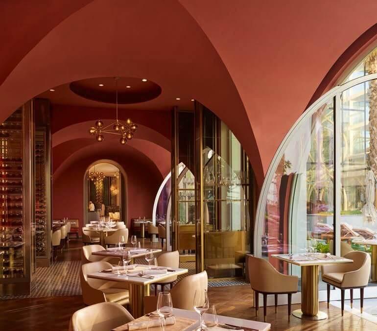 Cinque italian restaurant Dubai