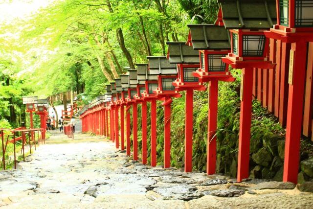 2021年貴船神社初詣の混雑状況や参拝時間は?ご利益や屋台出店情報を紹介!