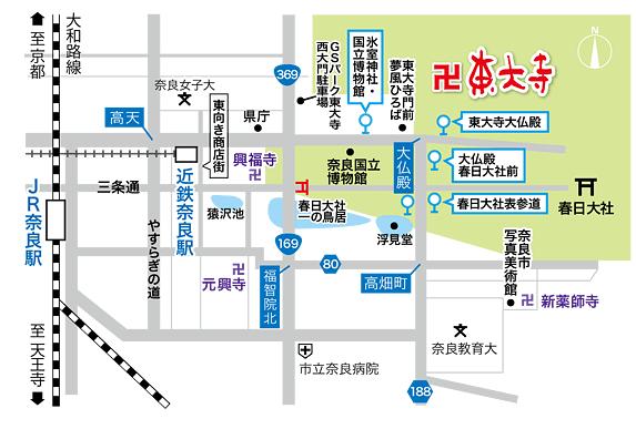 東大寺の初詣駐車場に関する参考画像