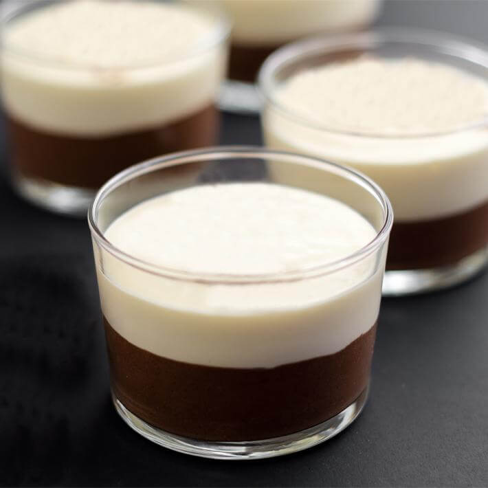 Keto Chocolate Cheesecake Jars