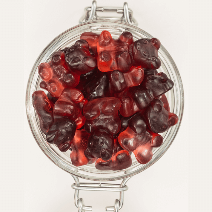 Low Carb, Sugar-Free Gummy Bears Candy