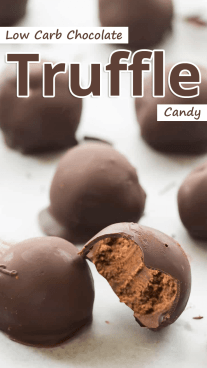Low Carb Chocolate Truffle Candy