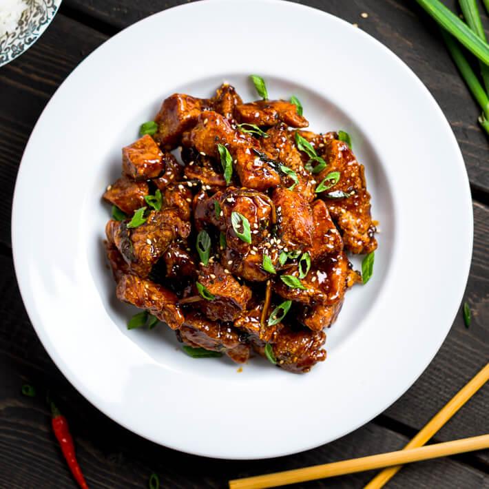 Keto Bites: General Tso's Chicken