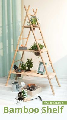 How to Create a Bamboo Shelf