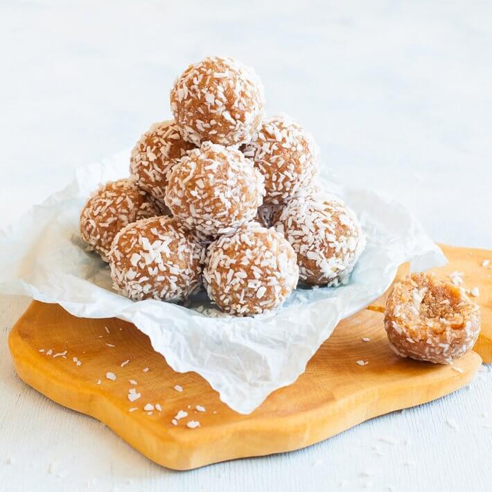 Keto Coconut Peanut Butter Balls