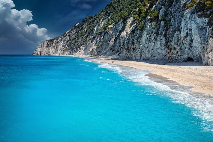 Egremni beach, Greece