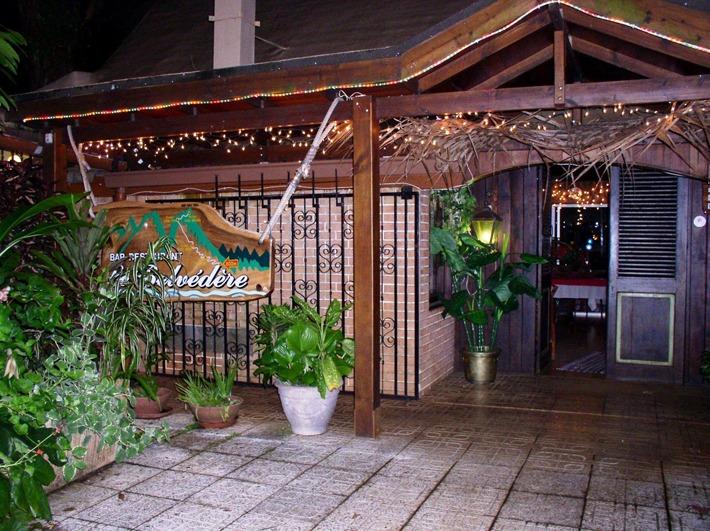 Le Belvedere Restaurant In Tahiti Islands