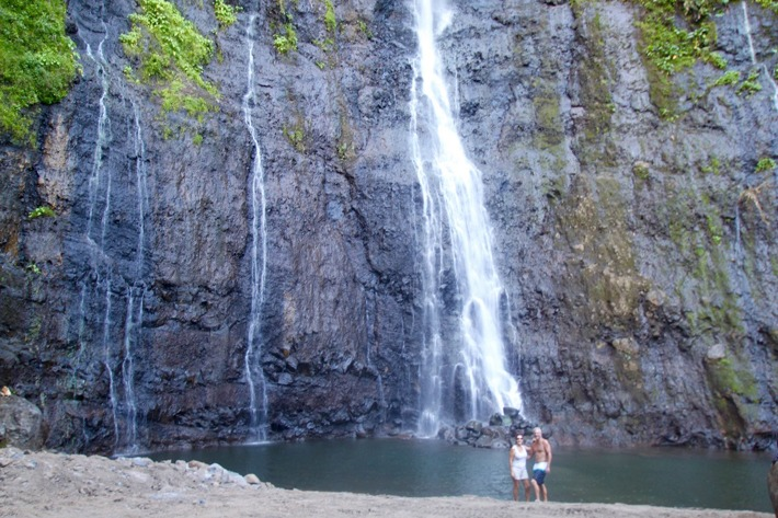 The Faarumai Waterfalls