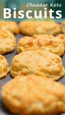 Cheddar Keto Biscuits