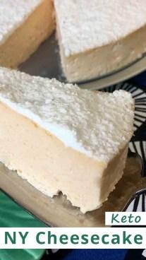 Keto NY Cheesecake
