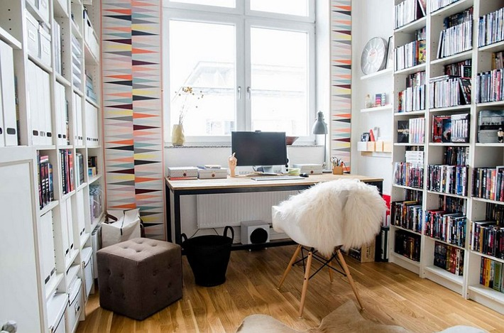 Splendid Scandinavian Home Office and Workspace Designs