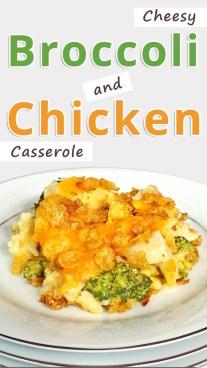 Cheesy Broccoli and Chicken Casserole
