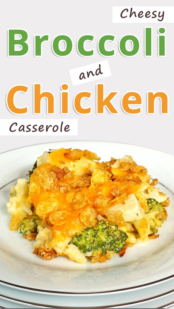 Cheesy Broccoli and Chicken Casserole