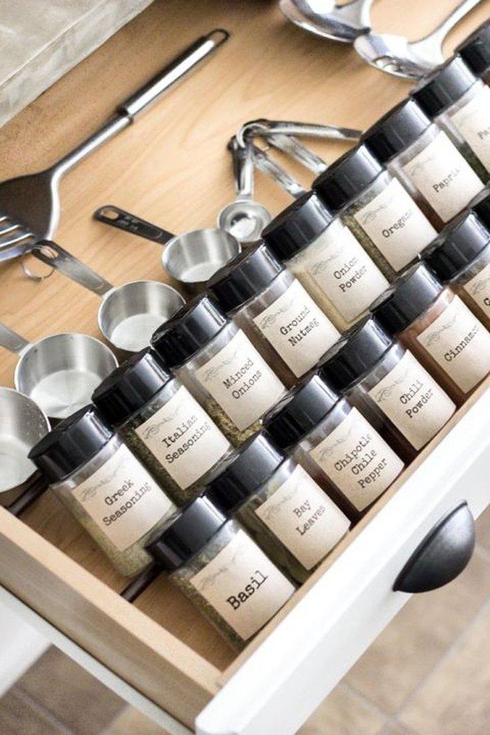 7 Unique Ways to Store Spices