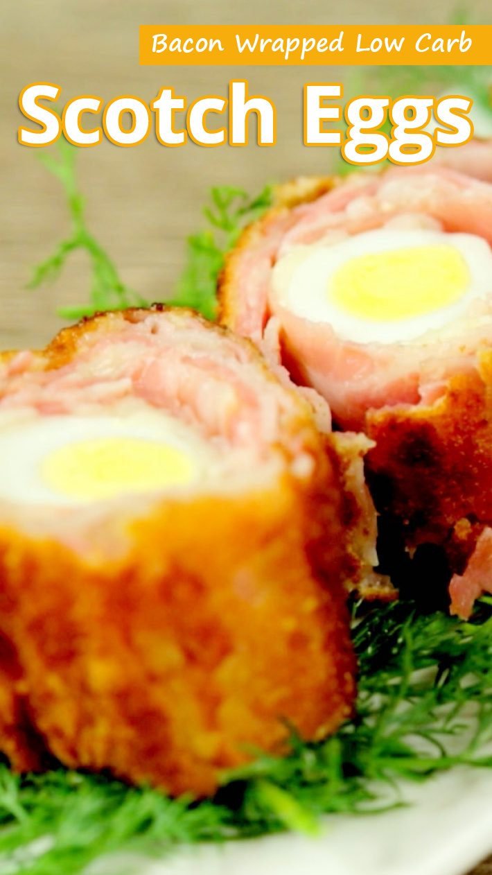 Bacon Wrapped Low Carb Scotch Eggs