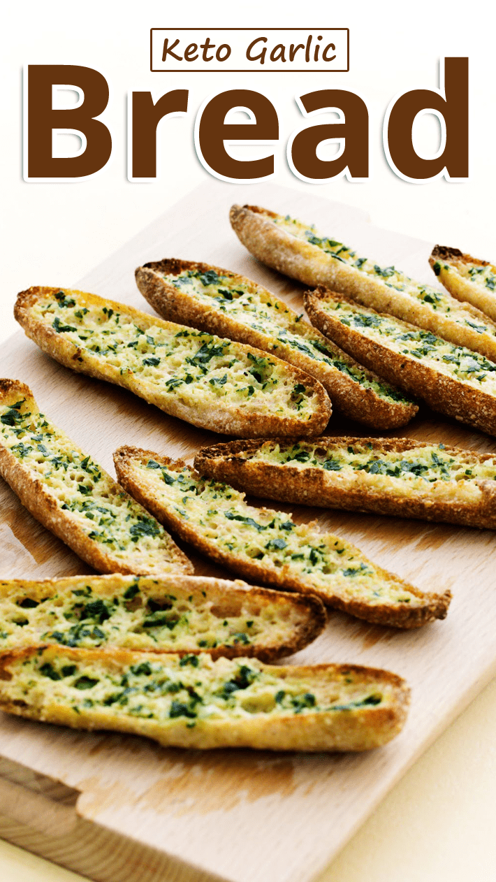 Keto Garlic Bread