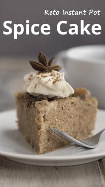 Keto Instant Pot Spice Cake