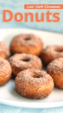 Low-Carb Cinnamon Donuts