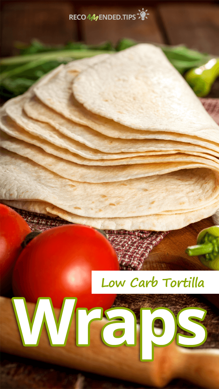 Low Carb Tortilla Wraps featured image
