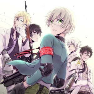 Aoharu x Machine Gun anime