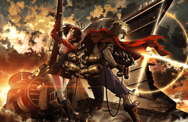 Kabaneri of the Iron Fortress anime