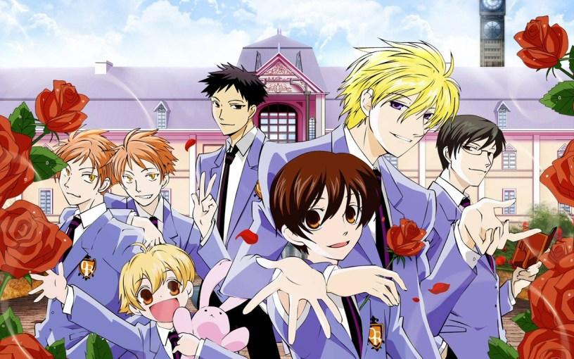 anime romance shows: Anime Series Like Ouran High School Host Club