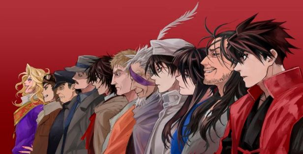 drifters anime