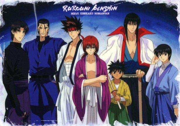 rurouni kenshin characters