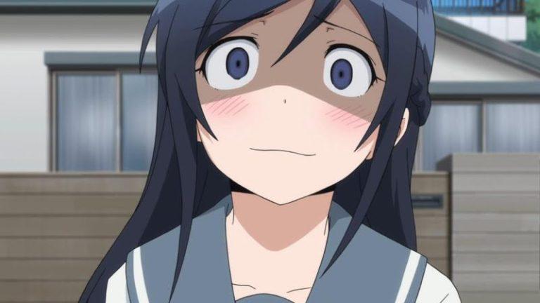 Ayase Aragaki from Oreimo Yandere Anime Girl