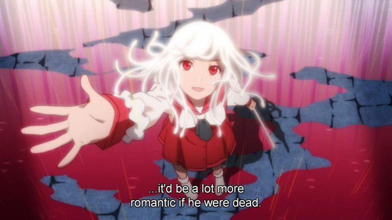 Nadeko Sengoku from Bakemonogatari Yandere Anime Girl