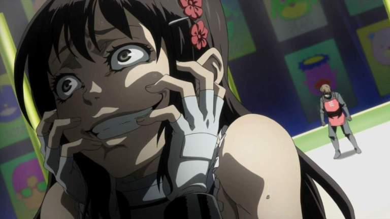 Takami Minatsuki from Deadman Wonderland Yandere anime girl