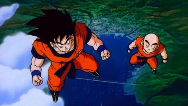 Goku and Krillin bromance