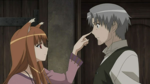 spice and wolf romance anime