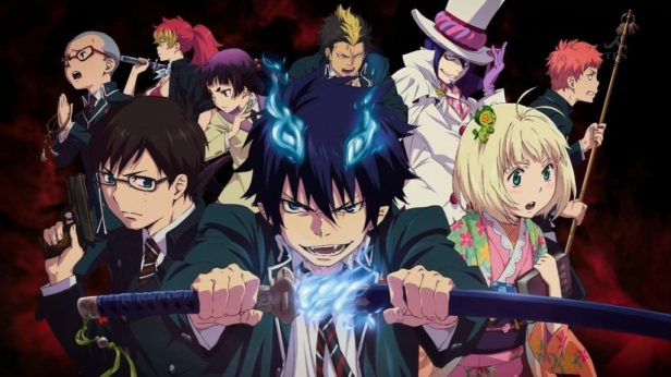 anime series like blue exorcist