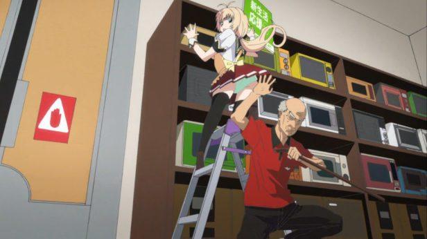 got a job anime