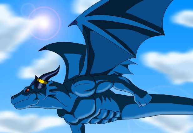 Blue Dragon from Blue Dragon