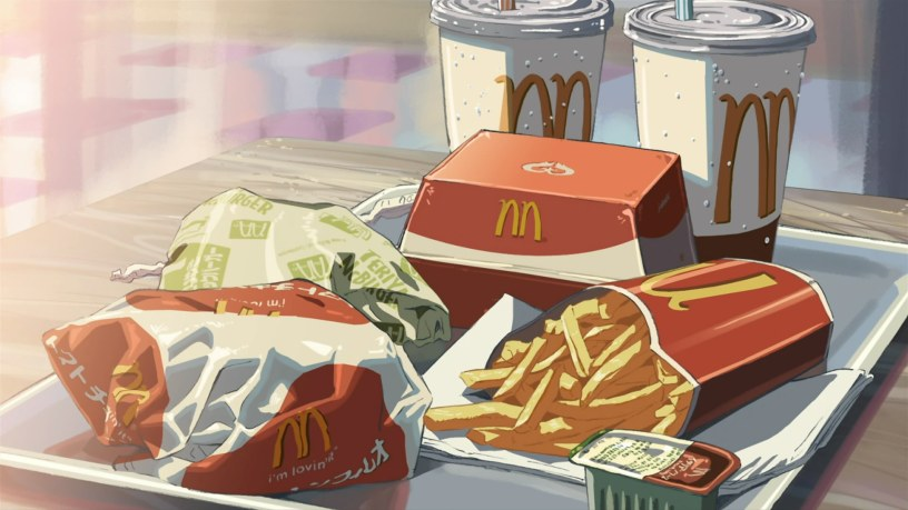 anime series about food