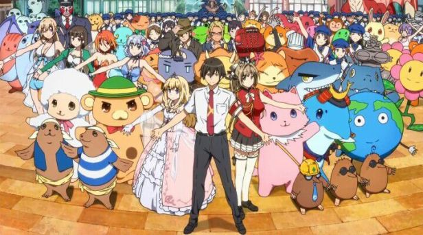amagi brilliant park anime