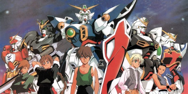 anime series like gundam wing