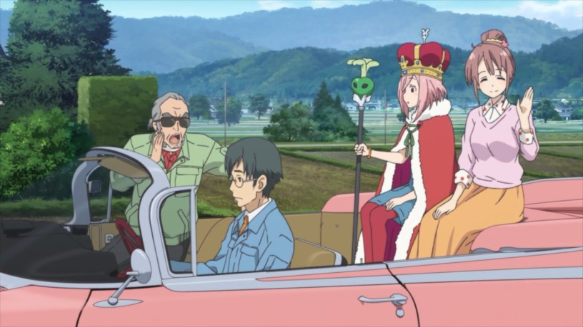 anime series like sakura quest