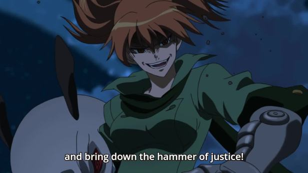 justice bitch from akame ga kill