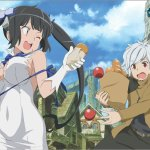 anime series like is it wrong to try to pick up girls in a dungeon