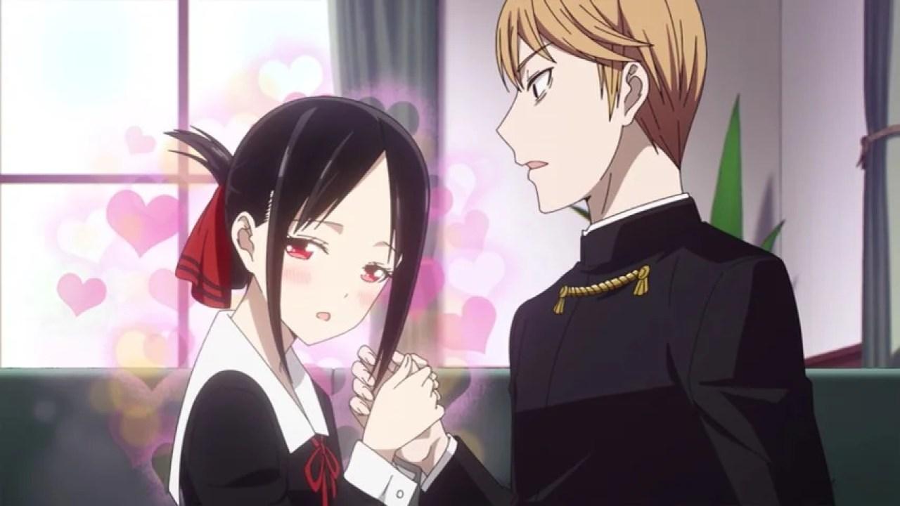 Image result for kaguya x miyuki anime