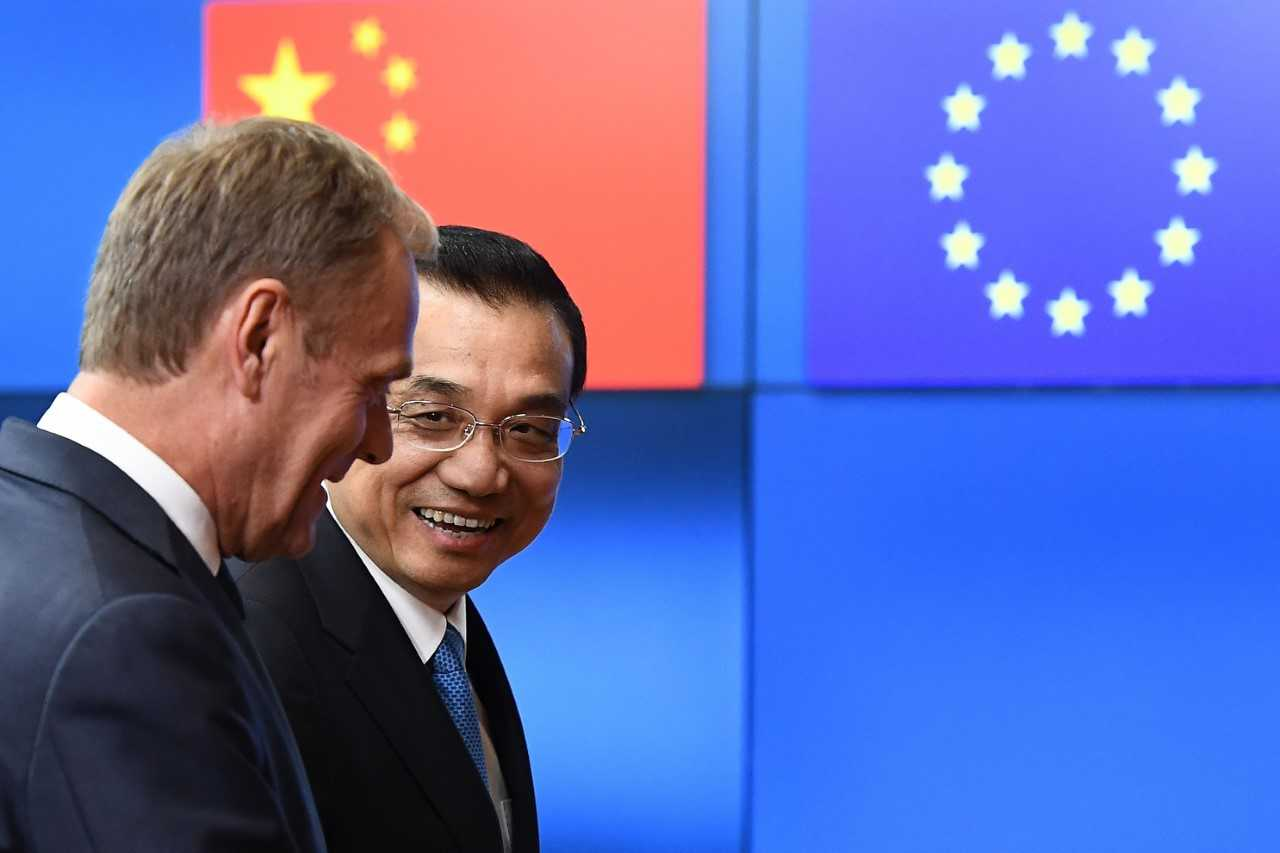 Europe react to Chinese activities