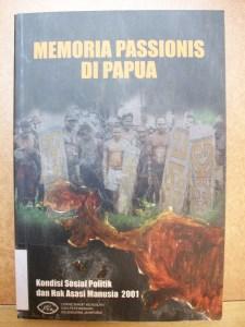 Memoria Passionis di Papua, cover image.