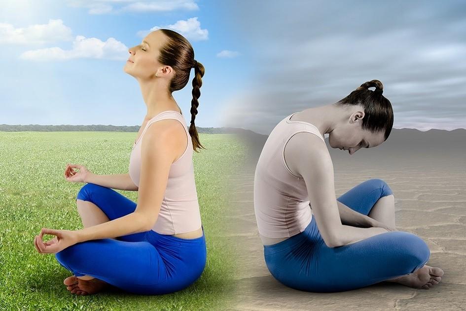 É possível sair de uma meditação pior do que você começou?