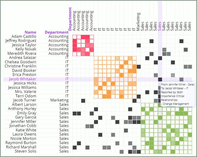 Organization design software tool