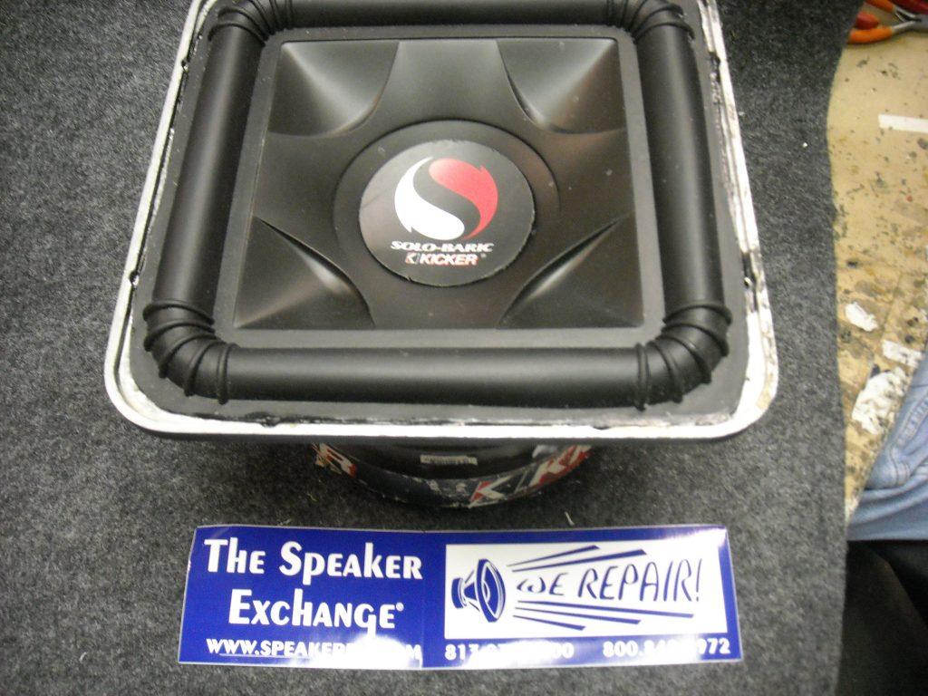 kicker l7 recone speaker exchange