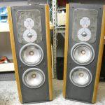Infinity speaker repair- before, speaker exchange, speakerex